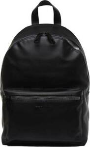 Replay Mens Eco Leather Backpack Black