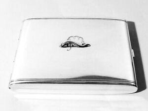Georg Jensen Denmark Silber Etui ° Zigarettenetui ° Design Arno Malinowski Kaufe Eins, Bekomme Eins Gratis