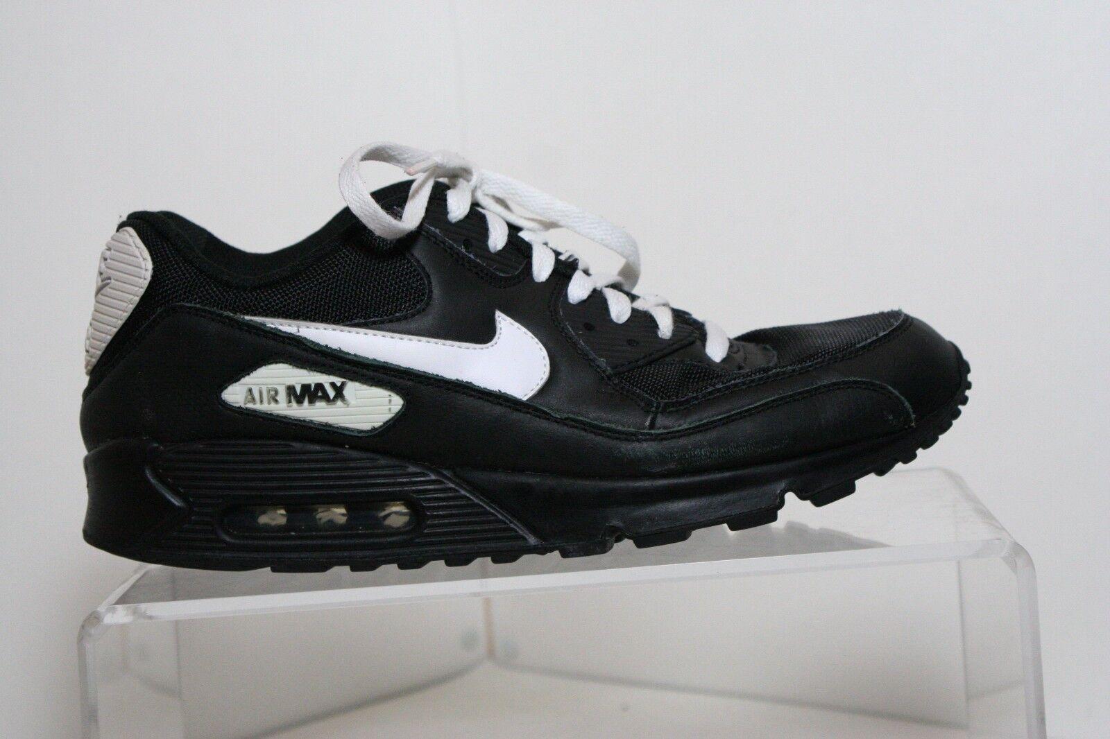 Nike Air Max Running Sneaker '10 Multi Black White Men 12 Leather Canvas Hip