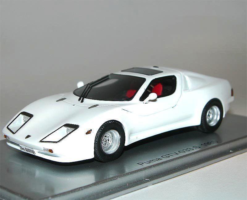 Kess scale models 1985 PUMA GTV 033 S KIT CAR CON ALFA chassis bianca