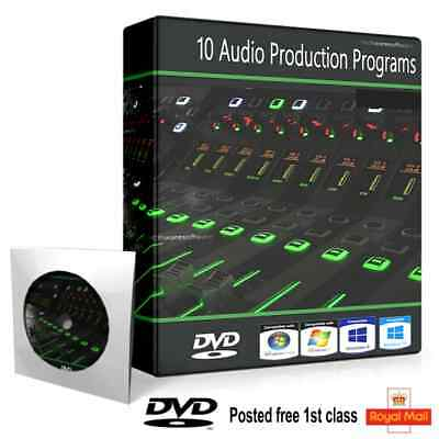 Audio Editing Software DVD Mix DJ Multi Track Record Sound Instrument  Effects | eBay