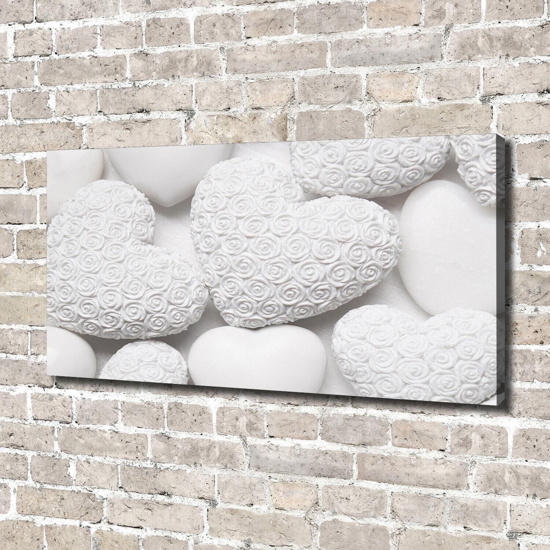 Leinwandbild Kunst-Druck 140x70 Bilder Sonstige Herzen