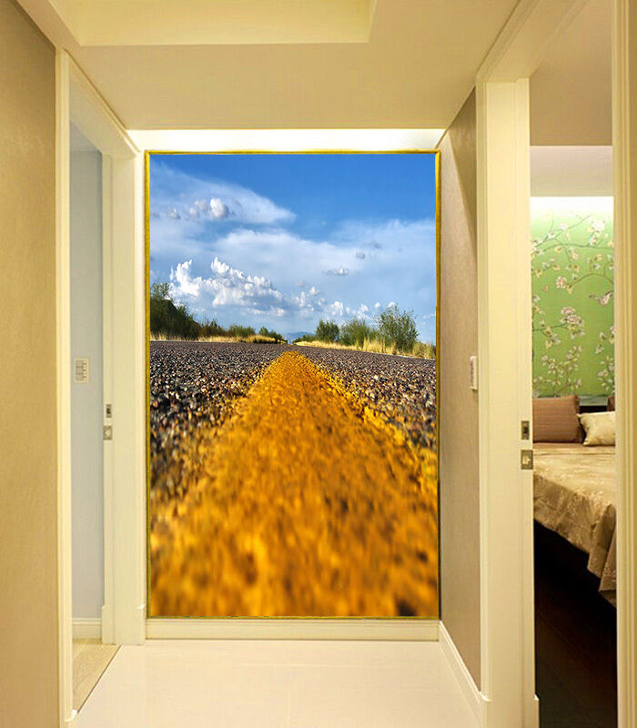 3D Highway Scenery 791 Wall Paper Wall Print Decal Wall Deco Wall Indoor Murals