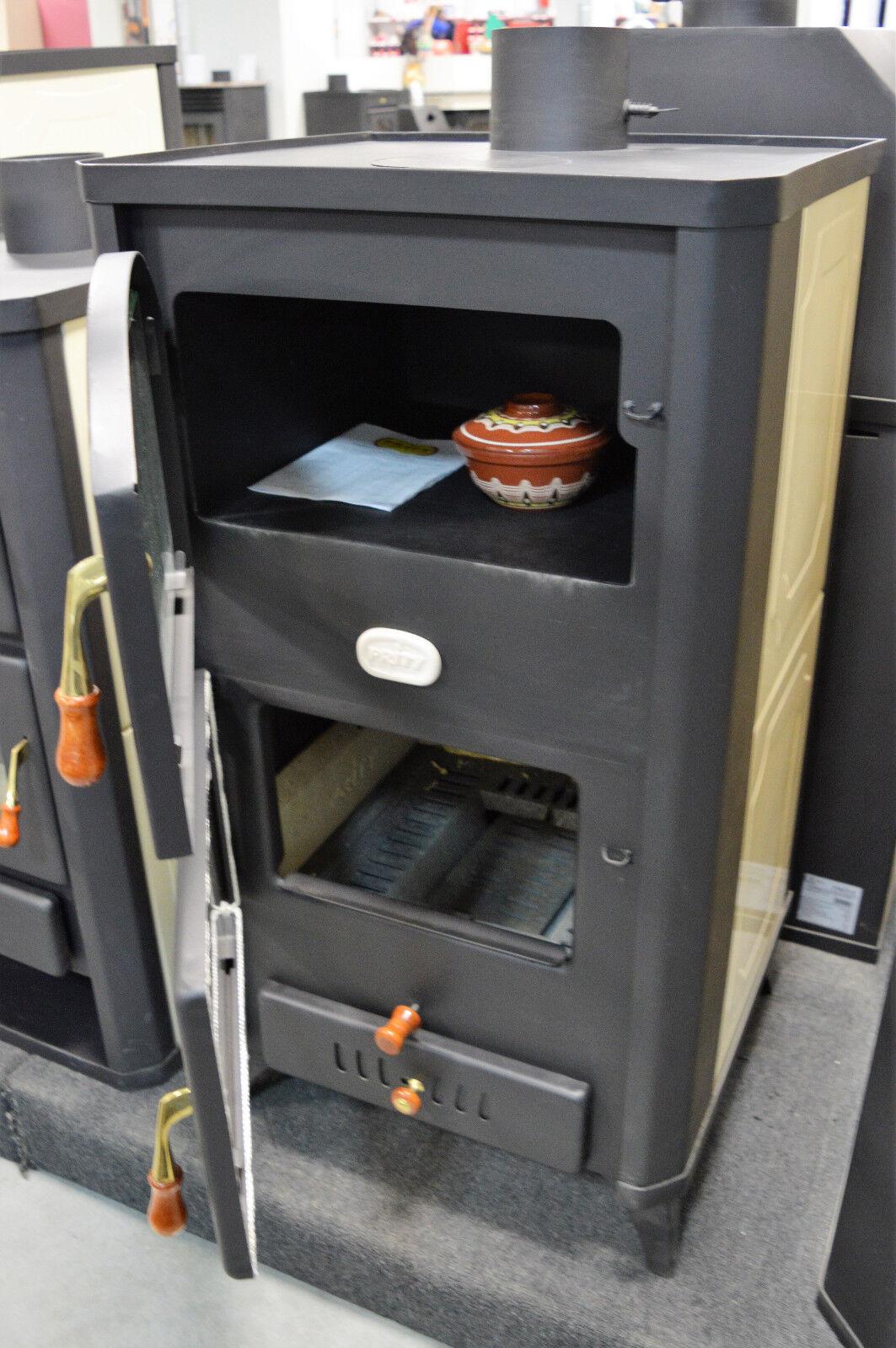 Stufa a legna boiler forno fornello camino 23kw prity fgw18r diversa colore ebay - Stufa caldaia a legna ...