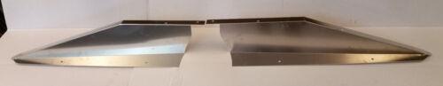 60-66 Chevy//GMC C10 Radiator Filler Panels 2-Piece Aluminum Smooth