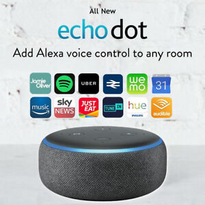 Amazon-Echo-Dot-3rd-Generation-Smart-speaker-With-Alexa-Charcoal-Black-NEW