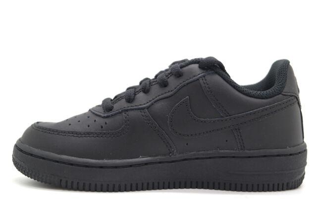 watch 3926e 61ff8 Nike Force 1 Black/Black-Black (PS) (314193 009)