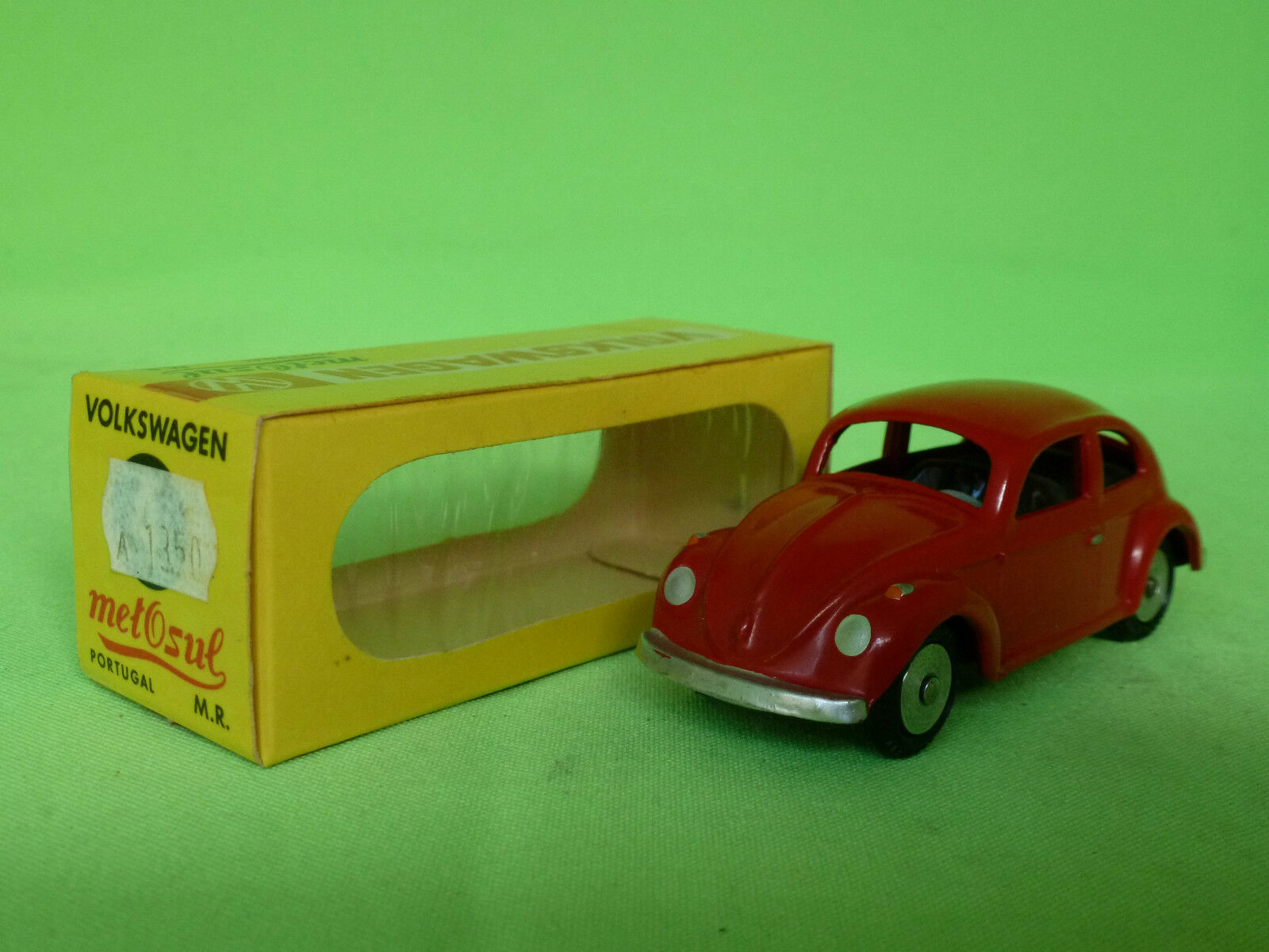 METOSUL 4 VW VOLKSWAGEN  rouge  RARE SELTEN IN EXCELLENT CONDITION IN BOX