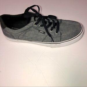 Bishop Textile Gray Canvas Sneaker 12