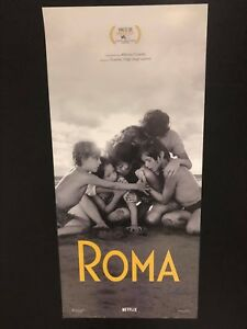 ROMA di Alfonso Cuaron (2018) Locandina originale cm. 33x70 tiratura limitata