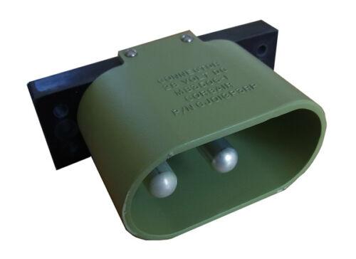AN 2552 Außenbordsteckdose 12V 24V Fremdstart passend zu AN 2551 Stecker