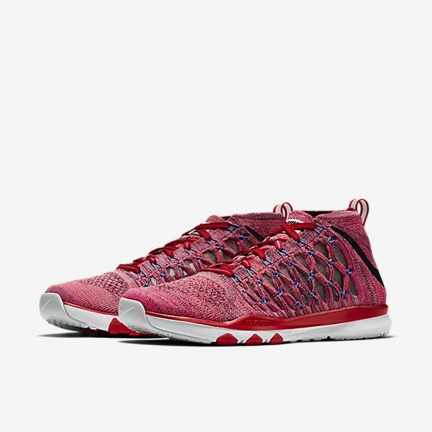 Nike Train Ultrafast Flyknit Men's size 12 Medium, PlumFog/Black/Ttl crimson NEW
