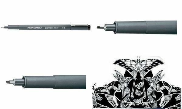 STAEDLER Pigmentliner schwarz 0,8 mm Sparpack wählbar