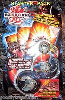 Haos (Grey) ROBOTALLIAN, SKYRESS and Mystery Marble - Bakugan Battle Brawlers STARTER Pack Series 1 with 3 Metal Gate Cards - 00778988774595 Toys