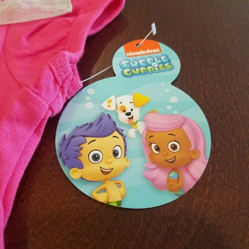 Bubble Guppies Molly Toddler Girl Pink Shirt /& Gray Leggings Outfit Set New 3T