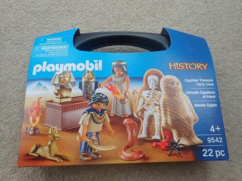 Playmobil 9542 History Egyptian Treasure Carry Case New Sealed