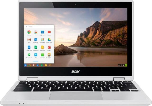 """Acer - R 11 2-in-1 11.6"""" Touch-Screen Chromebook - Intel Celeron - 4GB Memory..."""