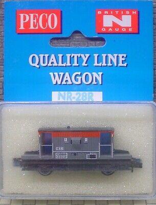 - New qty 1 Motivated Peco Nr-28r Quality Line Wagon British 'n' Gauge