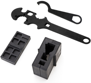 Wrench tool wrench three piece set of clamp block