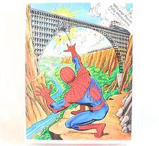 Vintage Spiderman Puzzle 100 Pc. Interlocking 1980