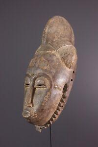 MASQUE-KPAN-PLE-BAOULE-AFRICAN-ART-AFRICAIN-PRIMITIF-AFRIKANISCHE-KUNST