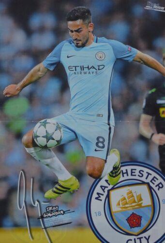 ILKAY GÜNDOGAN - Fußball Clippings Fan Sammlung NEU ca. 42 x 28 cm A3 Poster