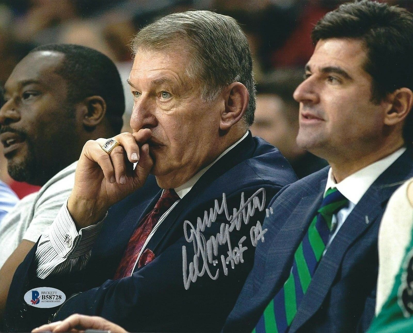 Jerry Colangelo Signed Philadelphia 76ers Basketball 8x10 Photo