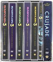 Babylon 5 Complete Series Season 1-5 (1 2 3 4 5 Movies & Crusade) Dvd Set