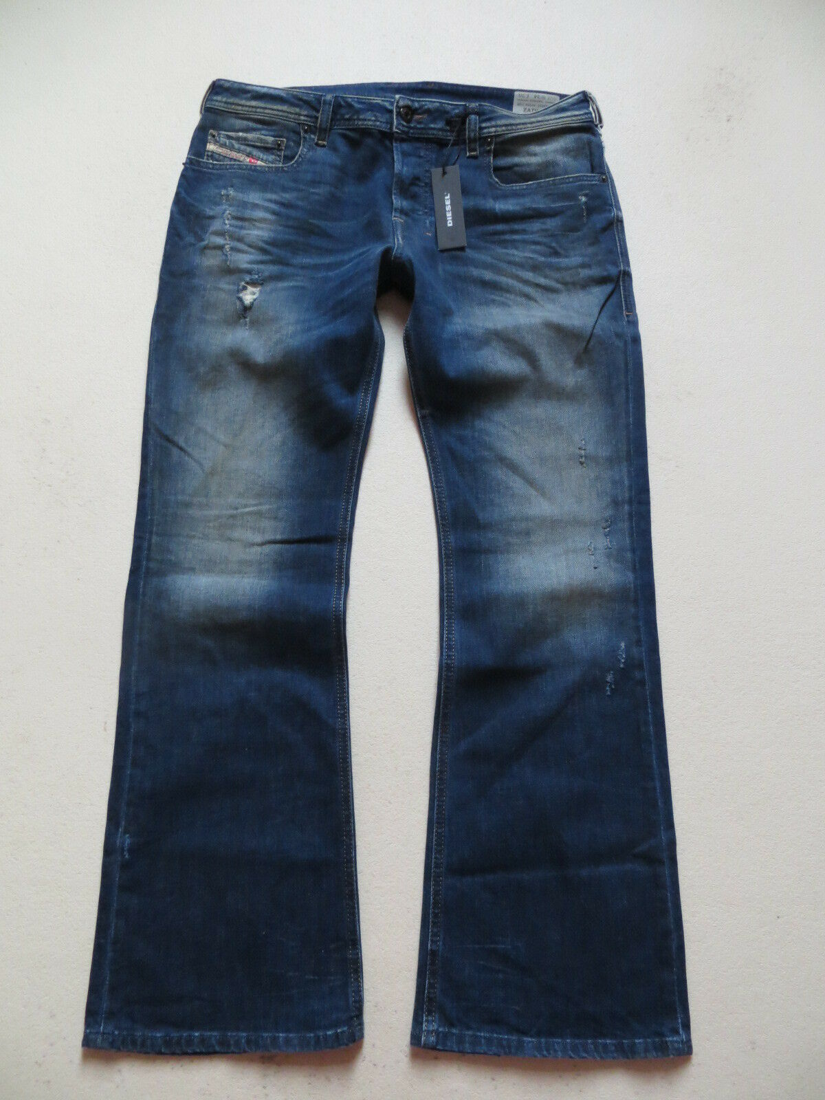 Diesel ZATHAN Stiefelcut Jeans Hose W 34  L 30 (32) NEU   wash R833F_stretch KULT