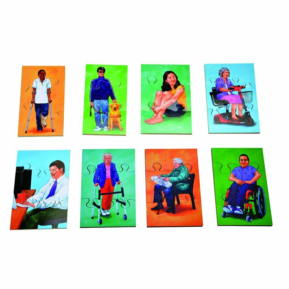 Forchtenberger People Puzzle - 3er Set