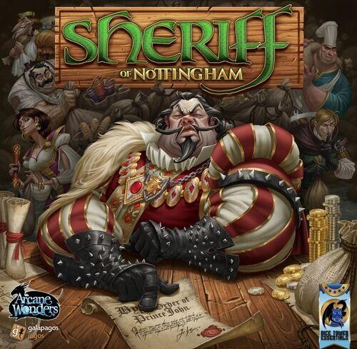 Boardgame Arcane Wonders Sheriff of Nottingham English New!