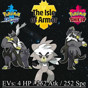 NEW-DLC-POKEMON-Kubfu-amp-Urshif-6IV-Battle-Ready-Pokemon-Sword-Shield
