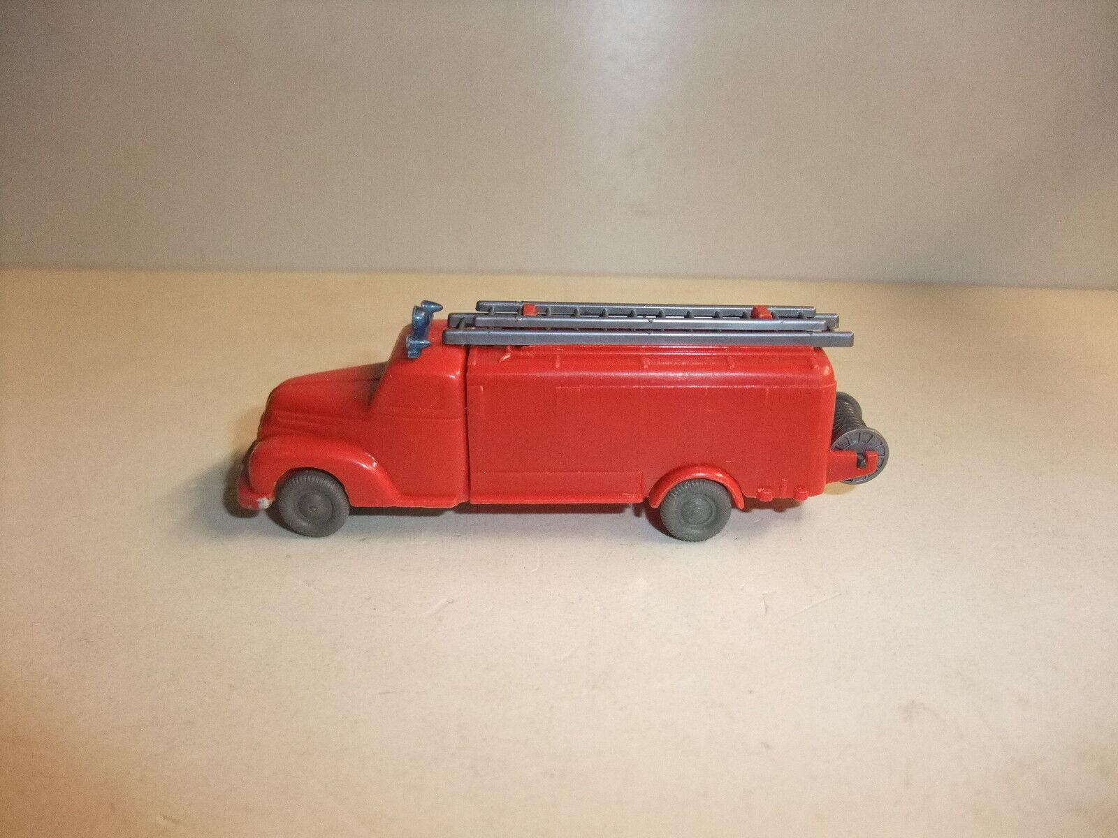 T1 Wiking Voiture Miniature FORD POMPIERS seringues voiture dépourvus de collection h0 1 87 50e