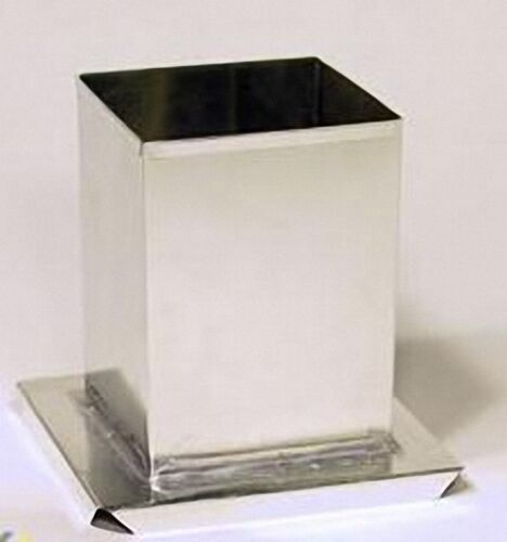 SQUARE Candle Mold 3-1//4 inches x 5 inches Tall
