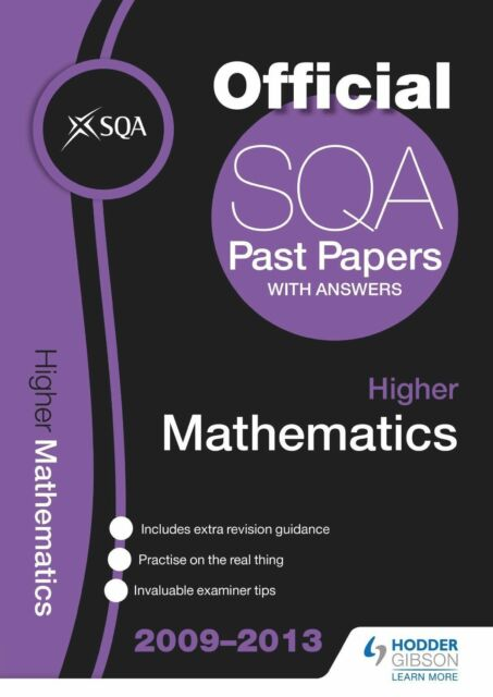 """AS NEW"" SQA Past Papers 2013 Higher Mathematics, Sqa, Book"