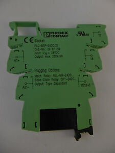 Phoenix-Contact-PLC-BSP-24DC-21-Relais-Solid-State-Relaismodul-2967219-Neu