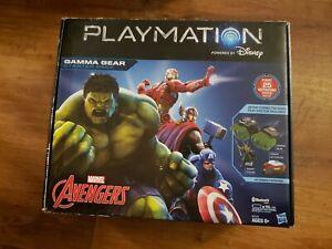 Disney-Hasbro-PLAYMATION-Marvel-Avengers-GAMMA-GEAR-Starter-Pack-Hulk-Loki