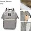 Luxury-Multifunctional-Baby-Diaper-Nappy-Mummy-Backpack-Waterproof-Changing-Bag thumbnail 16