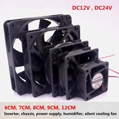 Humidifier Silent Cooling Fan Power New 6//7//8//9//12CM//14CM Inverter Chassis