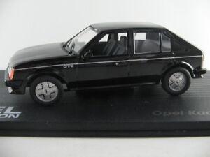 IXO-30-Opel-Kadett-D-GT-E-1983-1984-en-noir-1-43-Nouveau-PC-Vitrine