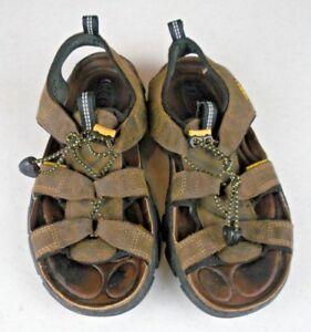 KEEN-Sarasota-Brown-Leather-Hiking-Waterproof-Sport-Sandals-Shoes-Women-039-s-7