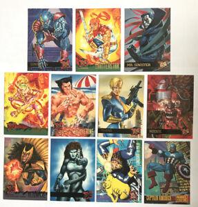Vintage-Marvel-Comics-X-Men-Trading-Cards-95-Fleer-Ultra-11-Cards
