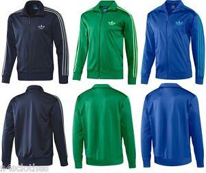Adidas-Originals-Mens-Adi-Firebird-Track-Top-Jacket-Dark-Blue-Green-XS-S-2XL