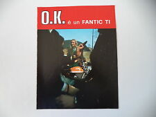 advertising Pubblicità 1973 MOTO FANTIC TI