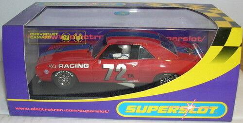 BESTELLUNG H2577 CHEVROLET CAMARO 1969 V/J RACING #72 SCALEXTRIC UK MB Elektrisches Spielzeug