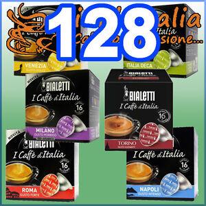 128-Capsule-caffe-BIALETTI-A-SCELTA-Mokespresso-cialde-alluminio-Mokona