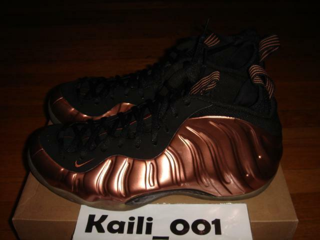Nike Air Foamposite One Size 12 Copper Penny DB 314996-081 A