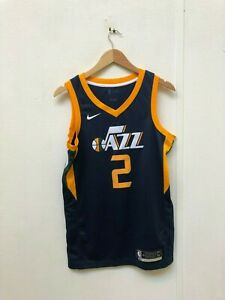 buy online ce0ff bf318 Details about Nike Men's Utah Jazz Icon Jersey - Small - Ingles 2 - Navy -  New