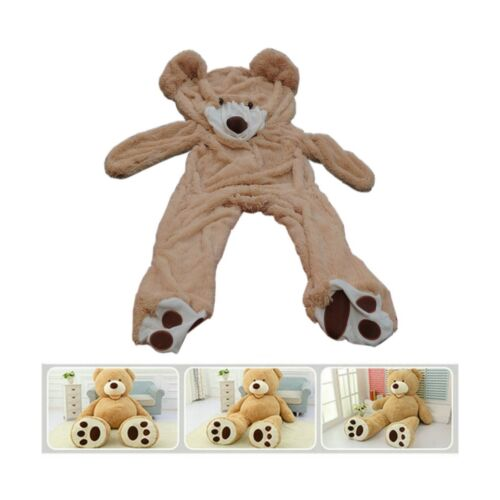 78(6.5 Feet) Giant Teddy Bear Cover ( Only Outer Shell with Zipper ) 200cm