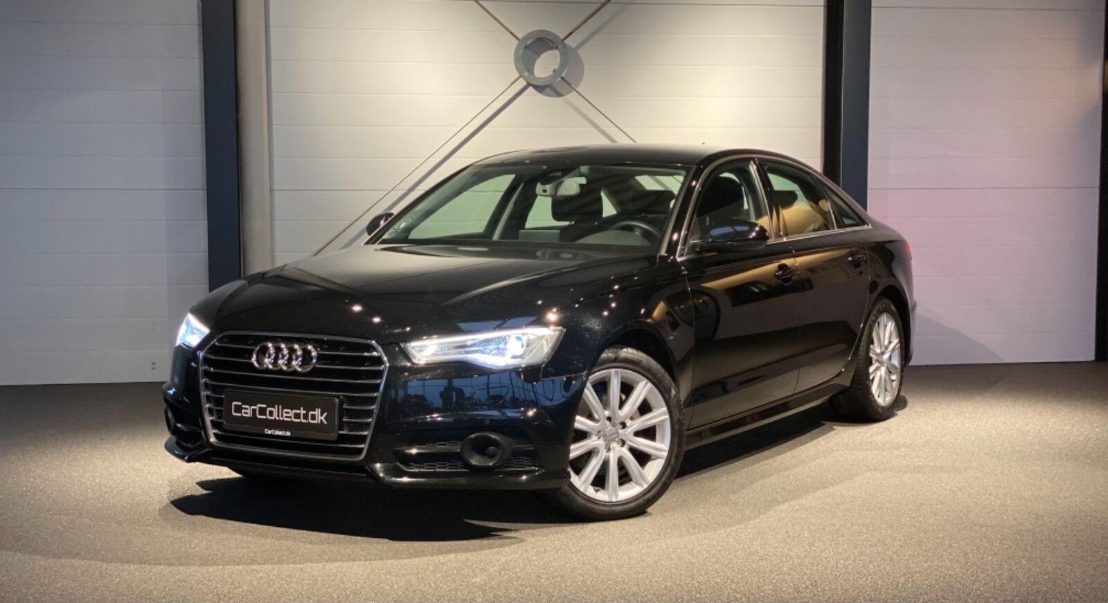 Audi A6 2,0 TDi 190 S-line S-tr. 4d - 340.000 kr.